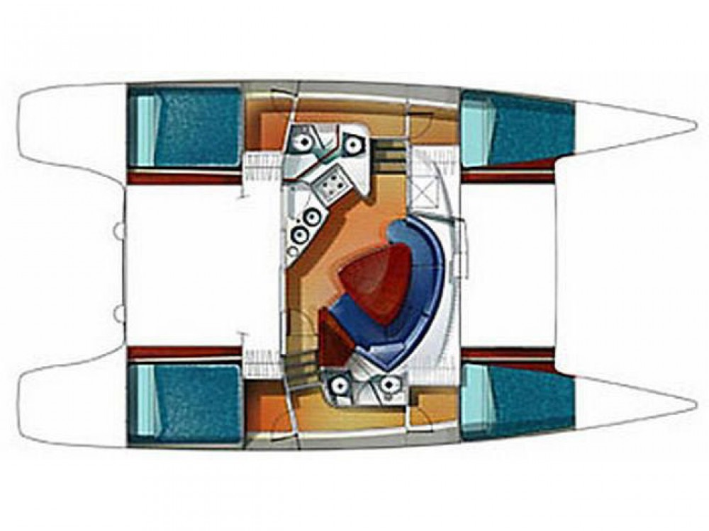 Hire Catamaran with or without skipper Fountaine Pajot Krk