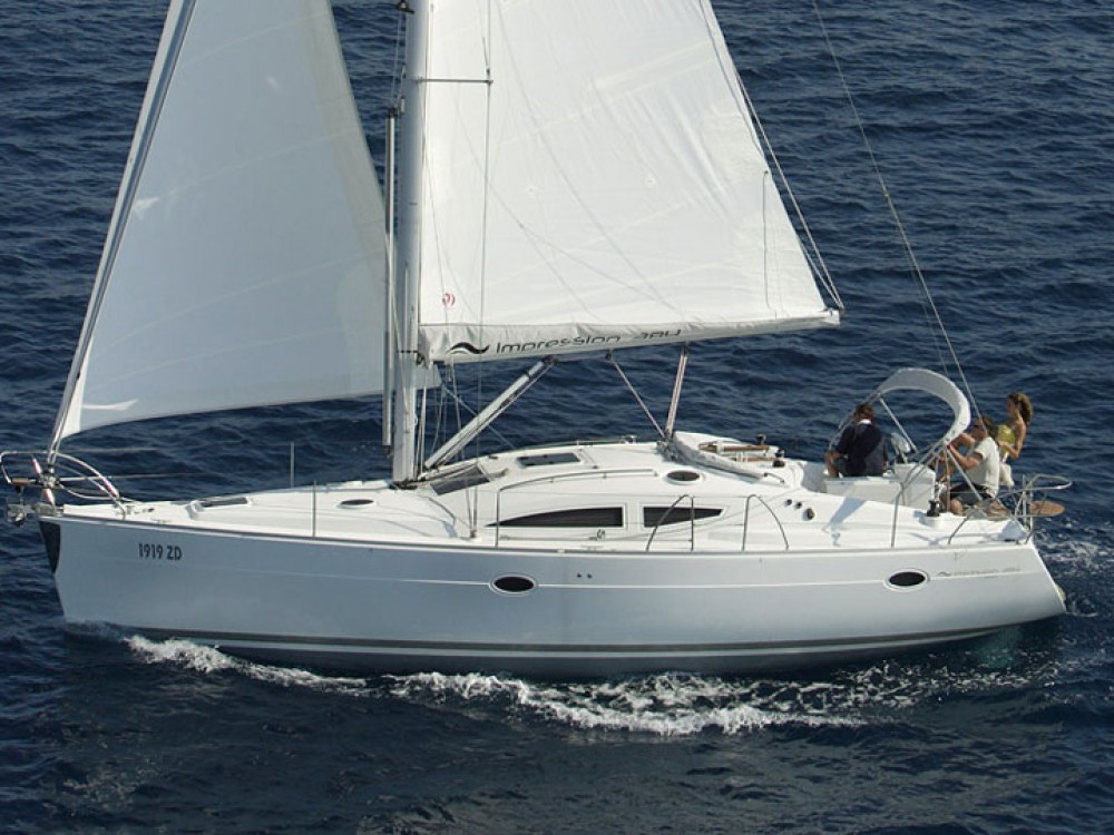 Boat rental Primošten cheap Elan 384 Impression