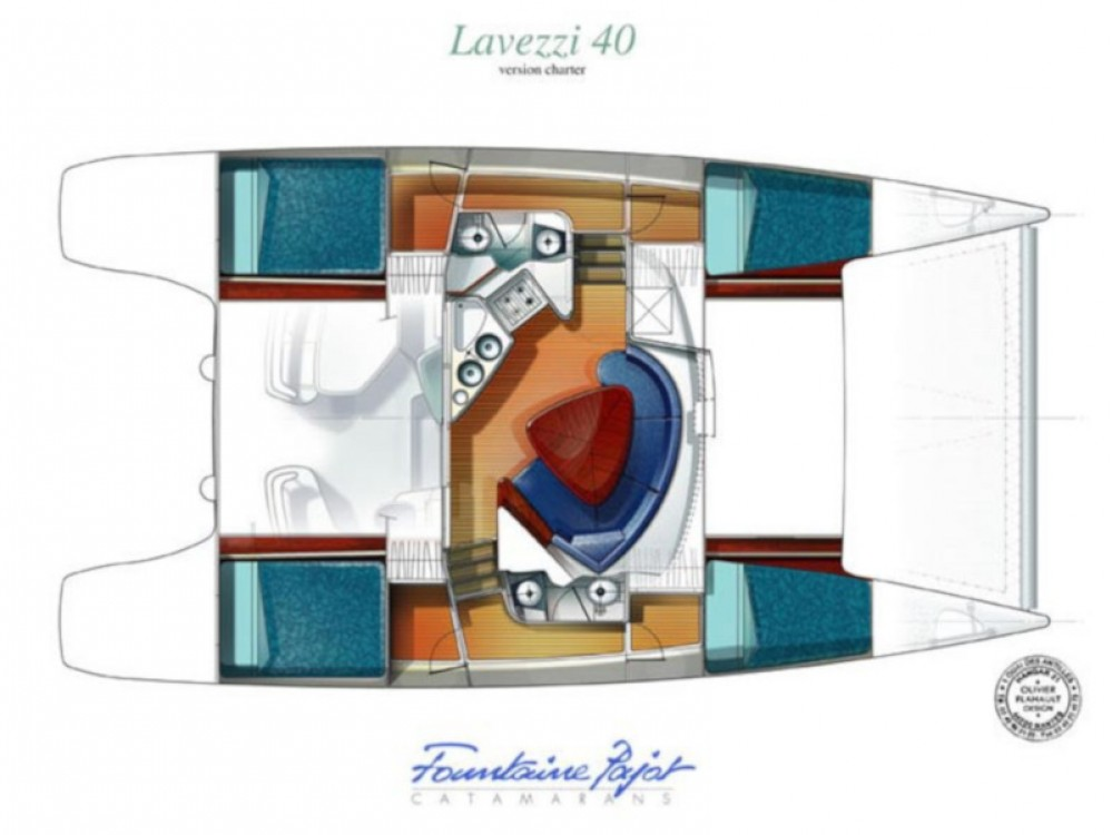 Fountaine Pajot Lavezzi 40 between personal and professional Primošten