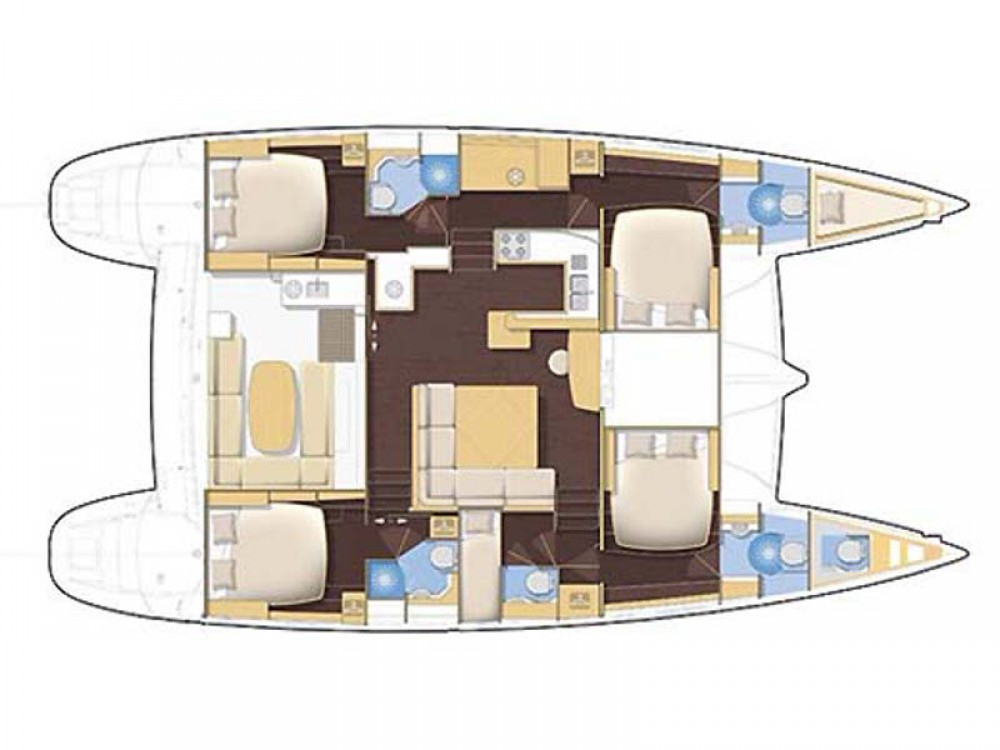 Boat rental Syracuse cheap Lagoon 500