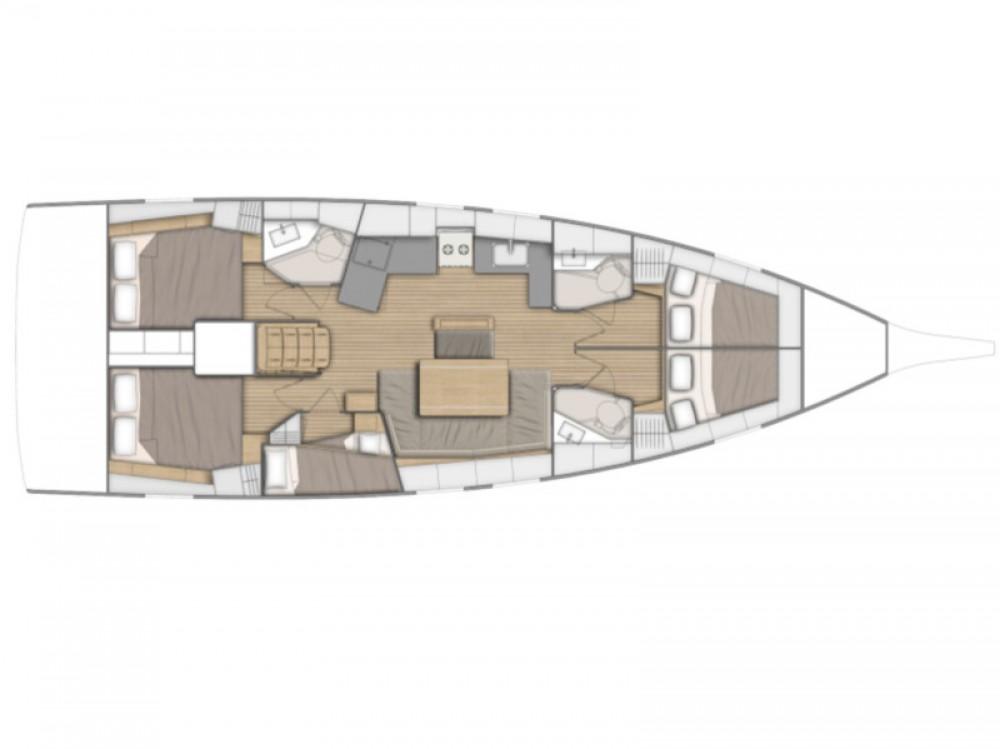 Rental Sailboat in Sukošan - Bénéteau Oceanis 46.1