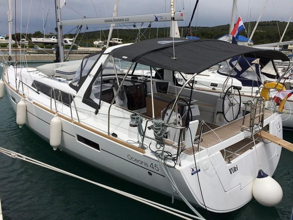 Boat rental  cheap Oceanis 45 V