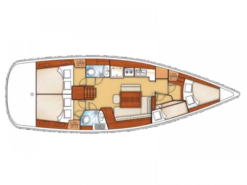 Boat rental  cheap Oceanis 43 BS
