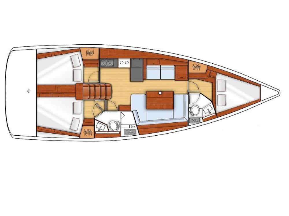 Rental Sailboat in Sukošan - Bénéteau Oceanis 41 S