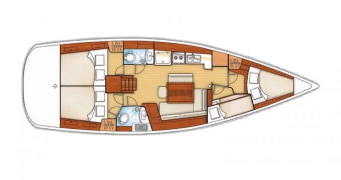 Rental Sailboat in Sukošan - Bénéteau Oceanis 43 V
