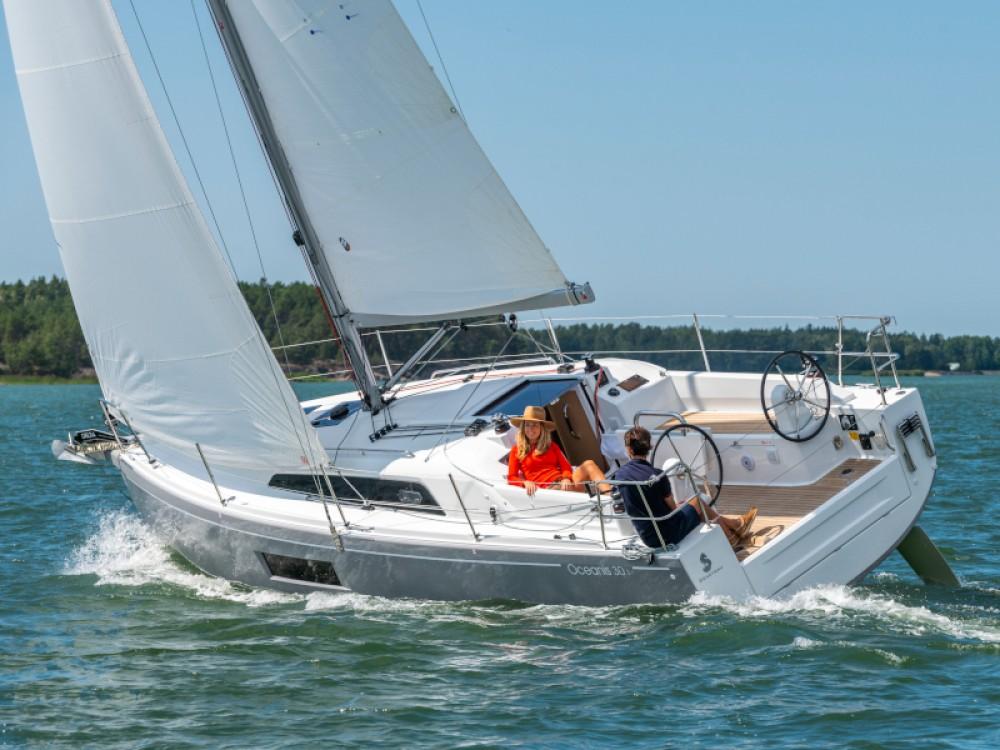 Boat rental Sukošan cheap Oceanis 30.1