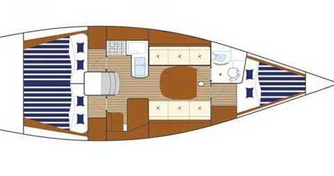 Boat rental Bénéteau First 36.7 in Primošten on Samboat