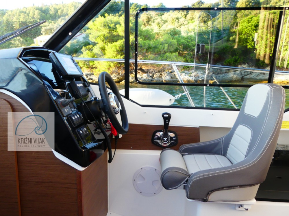 Rental Motorboat in Grad Zadar - Jeanneau Merry Fisher 795