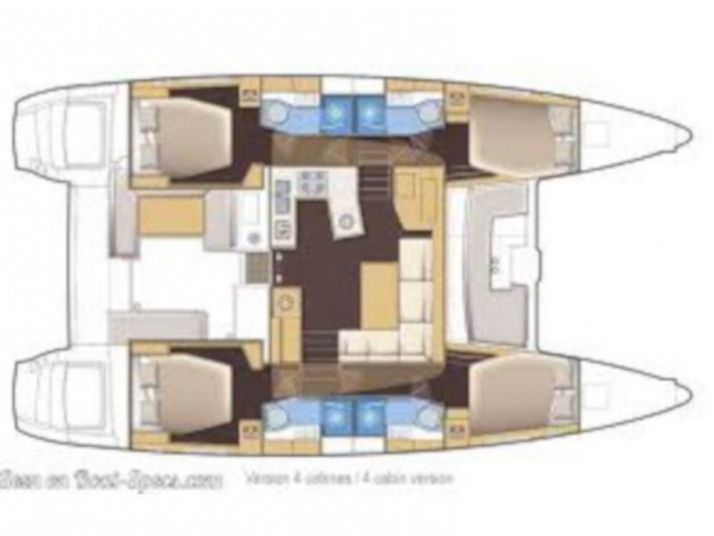 Rent a Lagoon Lagoon 450  Flybridge Skiathos