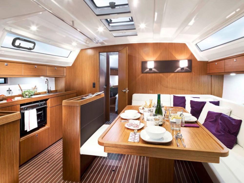 Boat rental Lefkada cheap Bavaria Cruiser 46