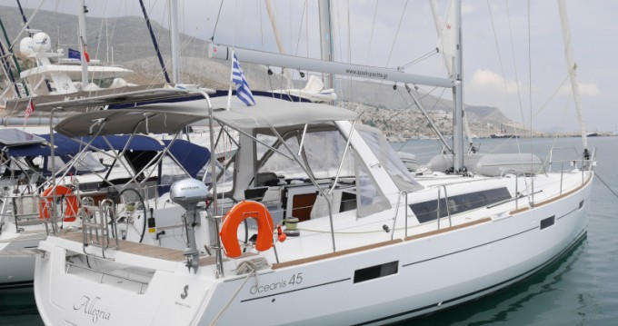 Bénéteau Oceanis 45 between personal and professional Municipal Unit of Lefkada