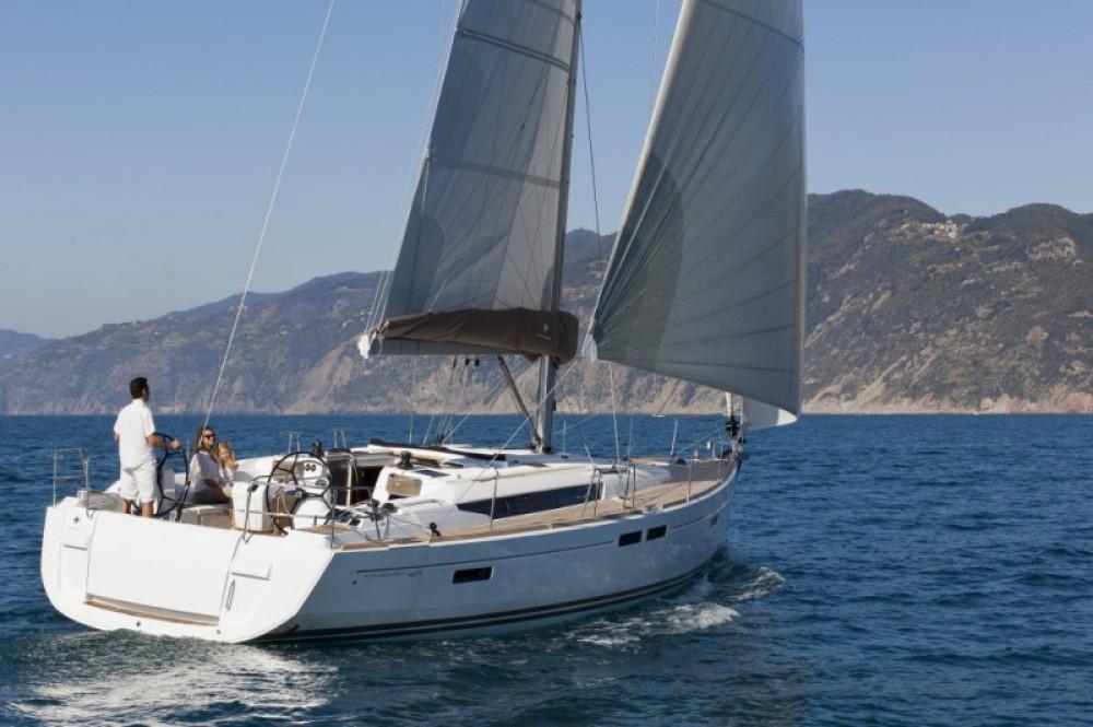 Boat rental Follonica cheap Sun Odyssey 469