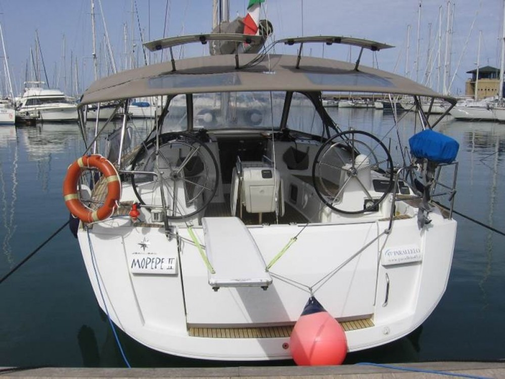 Jeanneau Sun Odyssey 469 between personal and professional Follonica