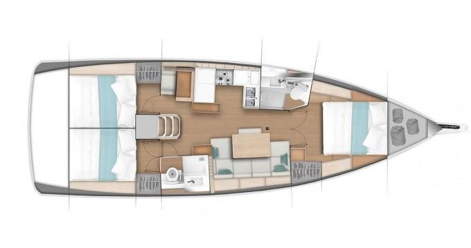 Boat rental Jeanneau Sun Odyssey 440 in Follonica on Samboat