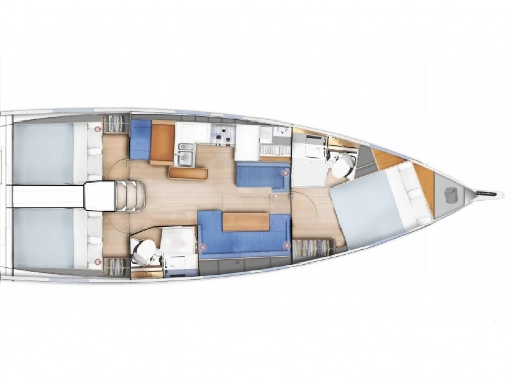 Rental yacht Follonica - Jeanneau Sun Odyssey 410 on SamBoat