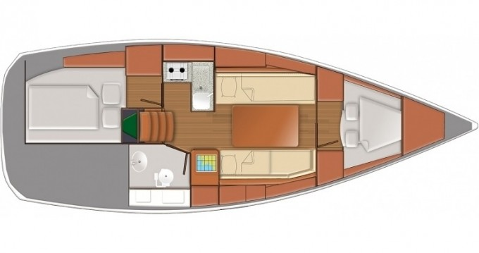 Rental Sailboat in Follonica - Jeanneau Sun Odyssey 319