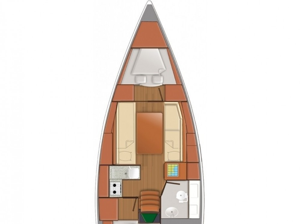Jeanneau Sun Odyssey 319 between personal and professional Follonica