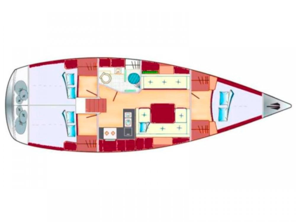 Rental Sailboat in Kenz-Küstrow - Hanse Hanse 370
