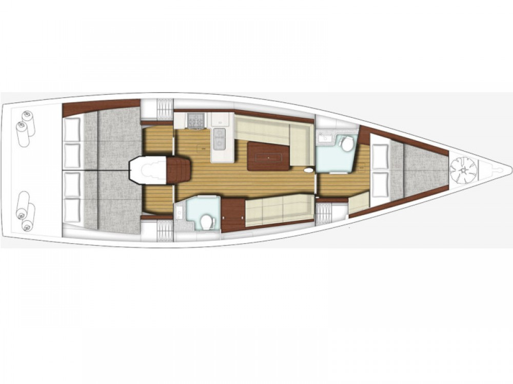 Rental Sailboat in Sukošan - X-Yachts Xp 44