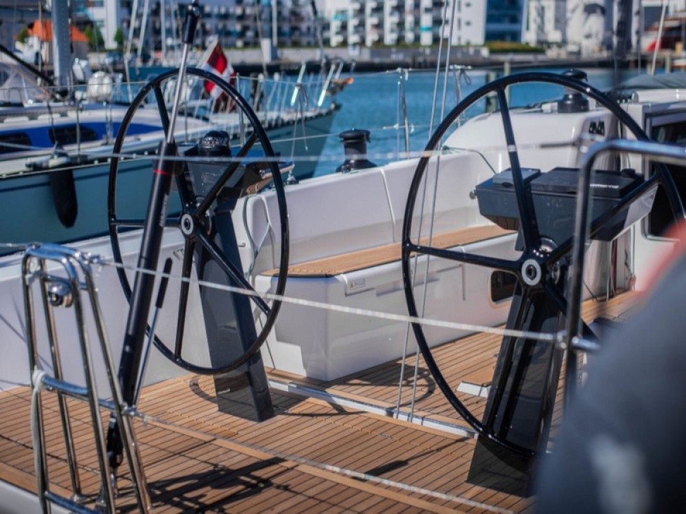Rental Sailboat X-Yachts with a permit