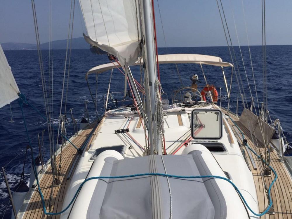 Rental Sailboat in Salerno - Jeanneau Sun Odyssey 43