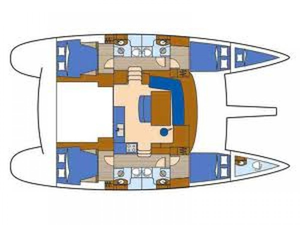 Rental Catamaran in Salerno - Lagoon Lagoon 440