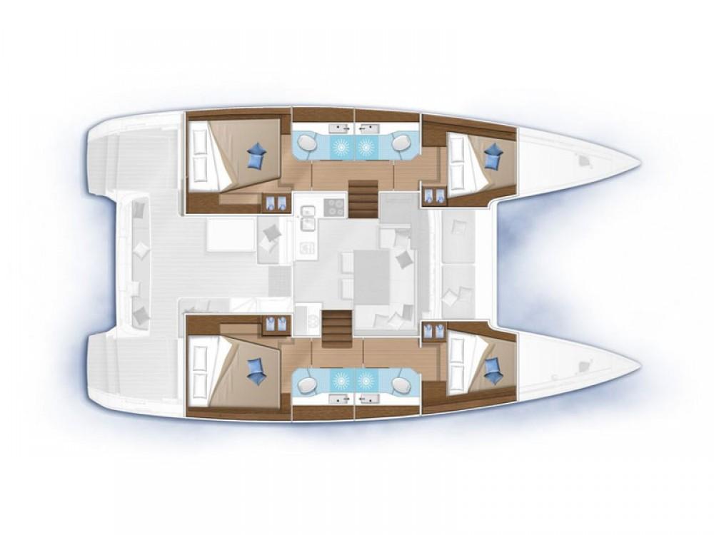 Rental yacht Marina d'Arechi - Lagoon Lagoon 40 on SamBoat