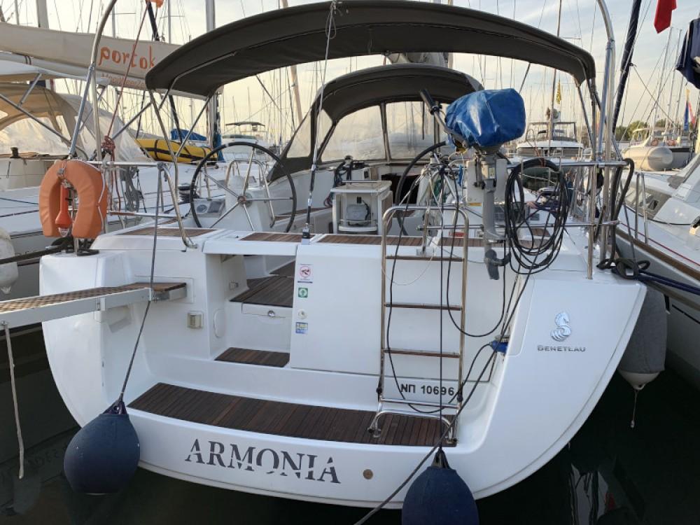 Boat rental Olympic Marina cheap Oceanis 46