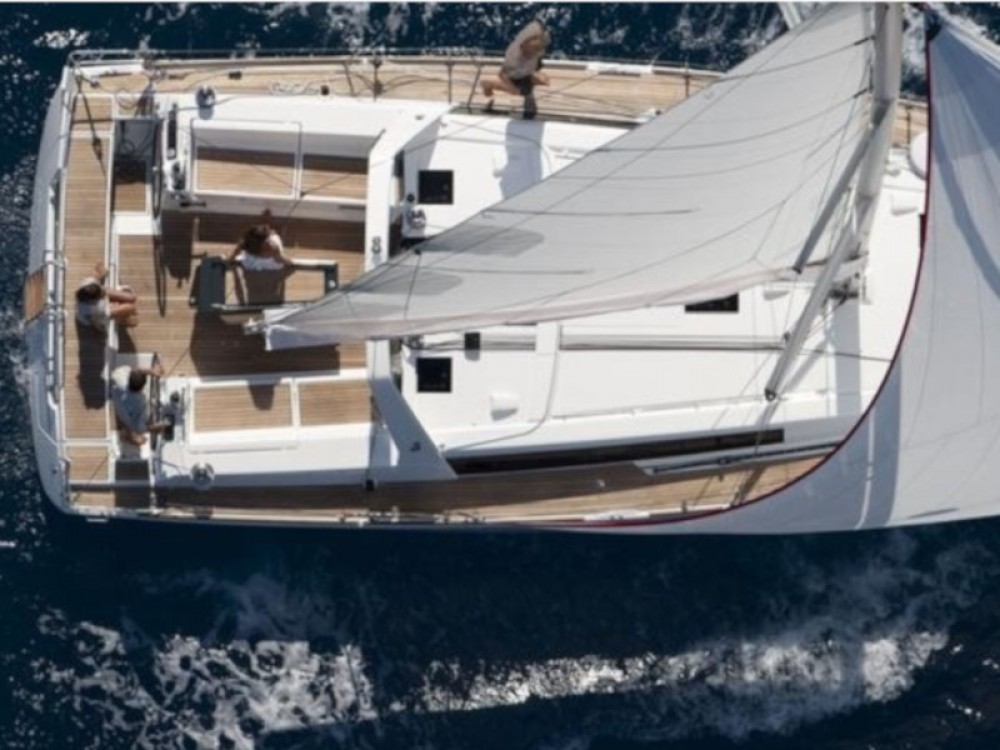 Boat rental Calliaqua cheap Oceanis 45