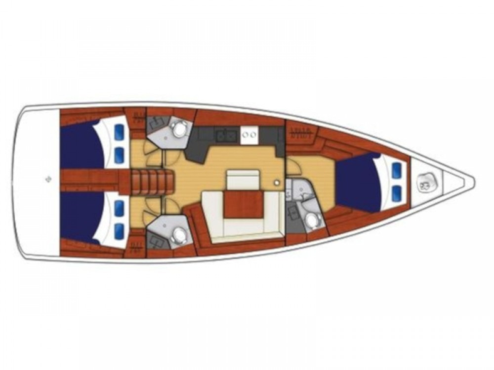 Rental Sailboat in Calliaqua - Bénéteau Oceanis 45