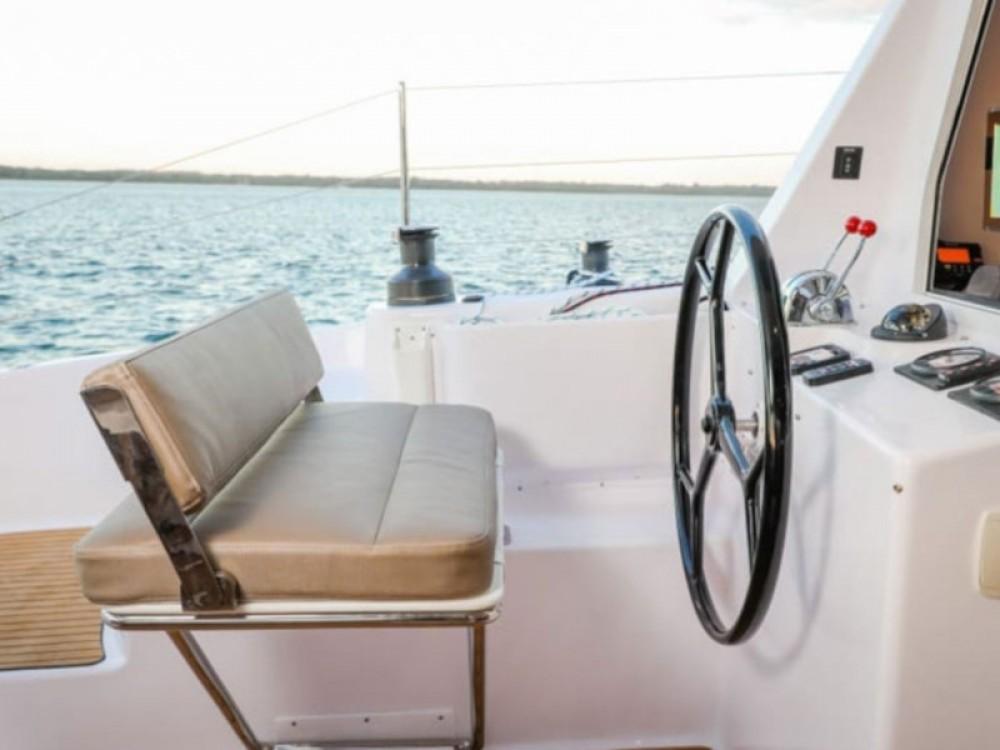 Rental Catamaran Seawind with a permit