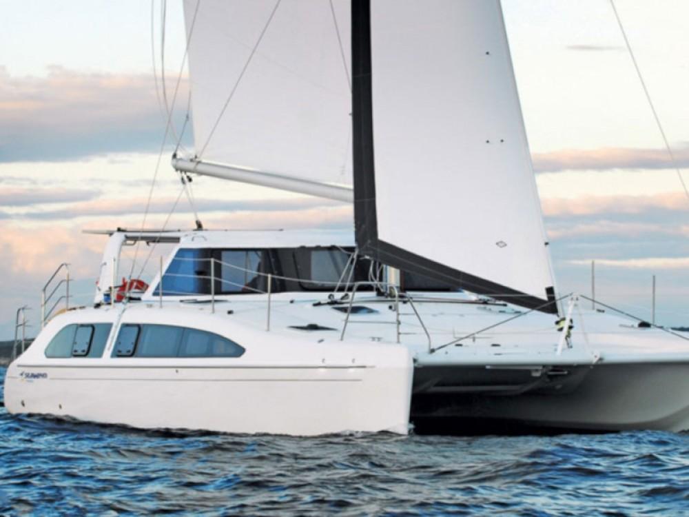 Boat rental Calliaqua cheap Seawind 1260