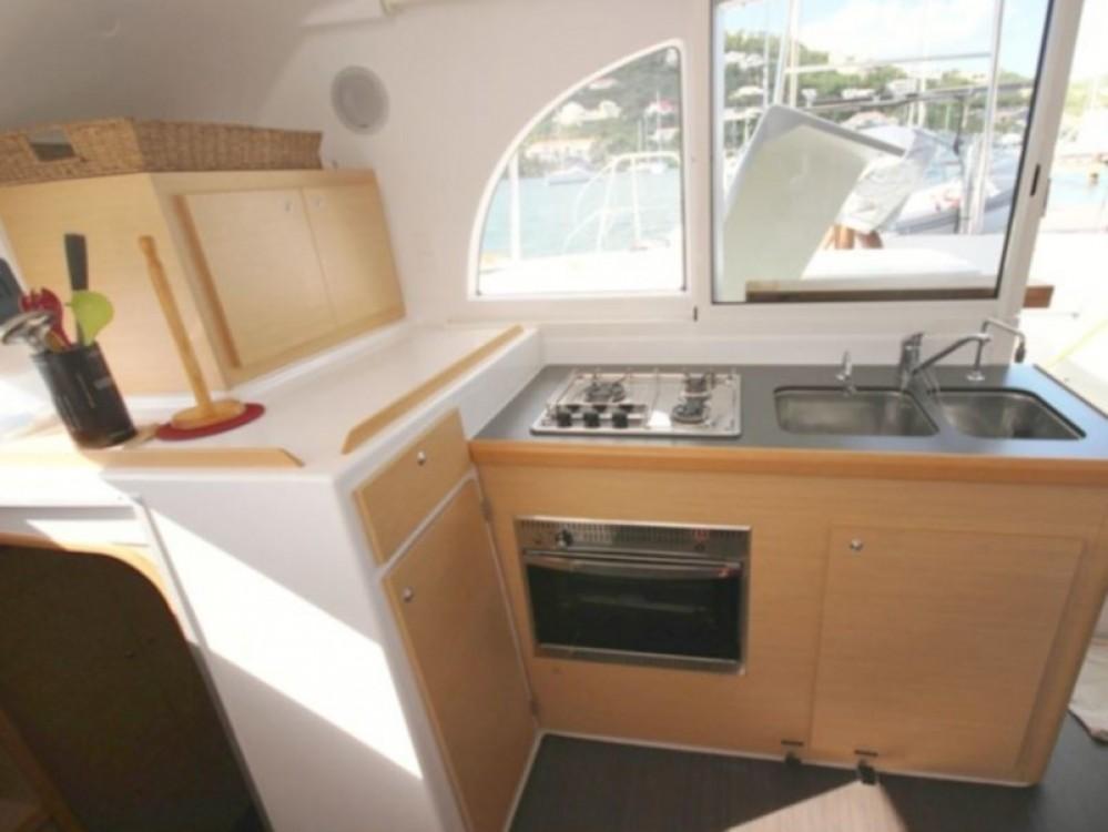 Boat rental Calliaqua cheap Lagoon 380