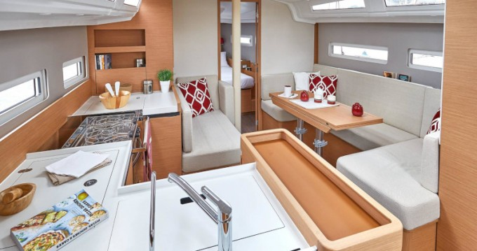 Rental yacht Lefkada (Island) - Jeanneau Sun Odyssey 410 on SamBoat
