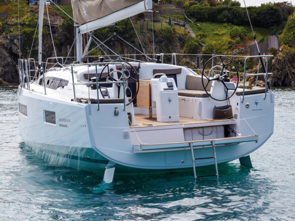 Jeanneau Sun Odyssey 410 between personal and professional Kontokali