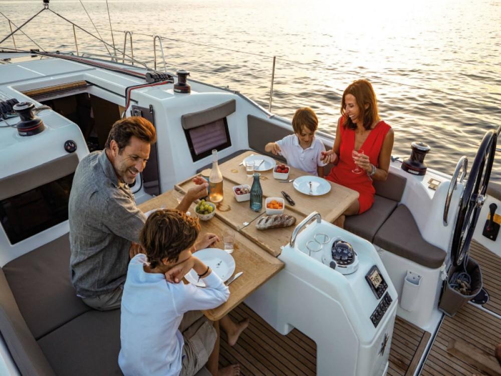 Rental yacht Lefkada - Jeanneau Sun Odyssey 410 on SamBoat