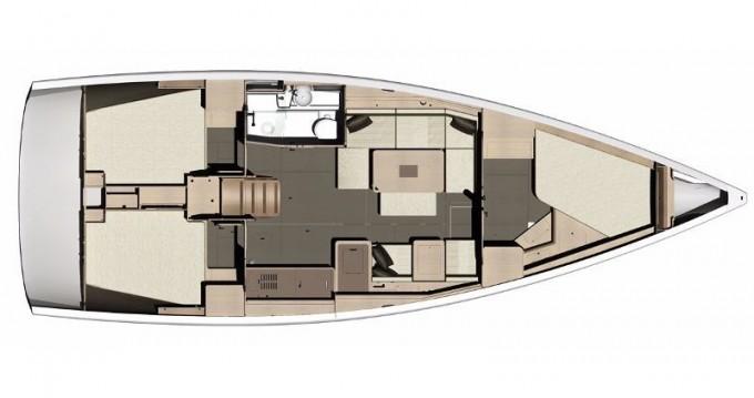 Rental yacht Níkiti - Dufour Dufour 410 Grand Large on SamBoat