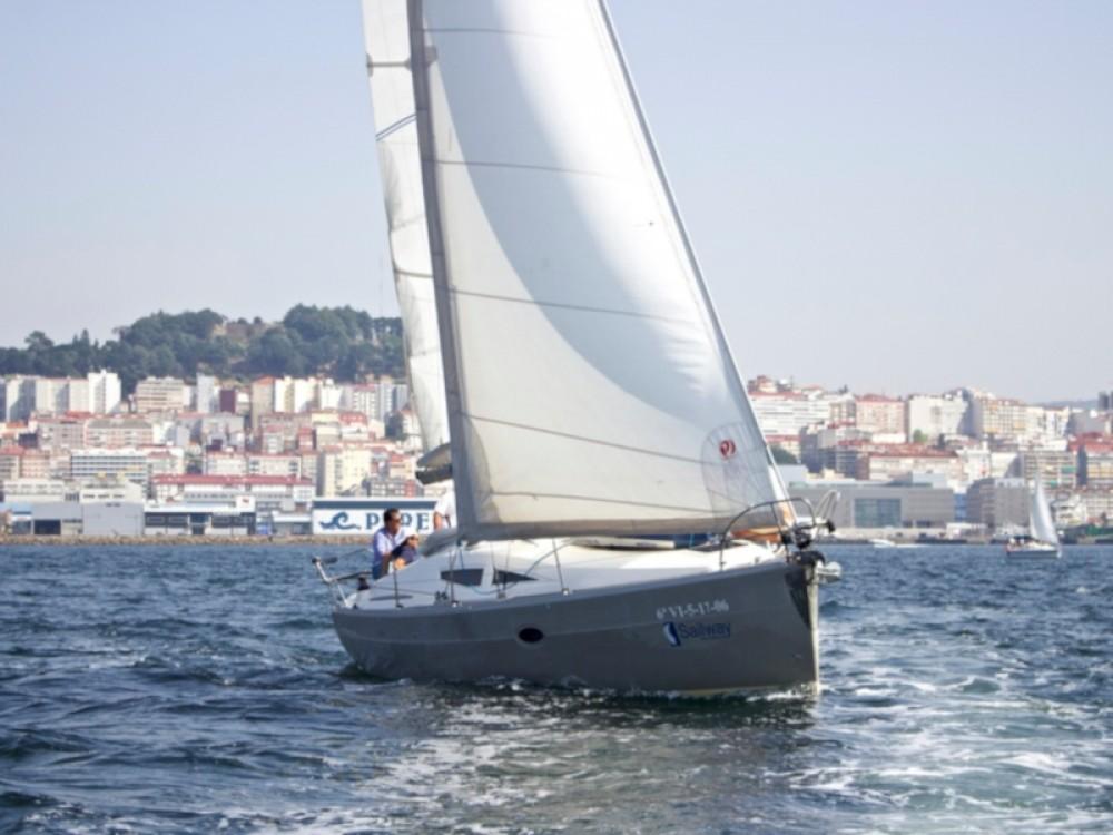 Rental Sailboat in Galicia - Elan Elan 344 Impression
