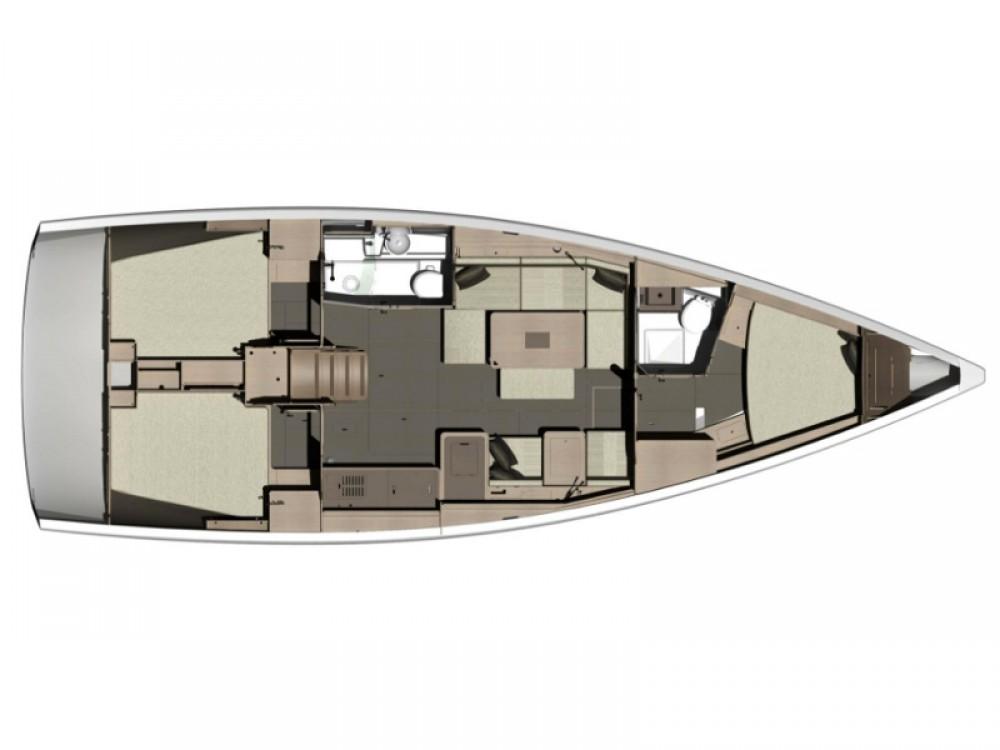 Boat rental Capo d'Orlando cheap Dufour 412 GL