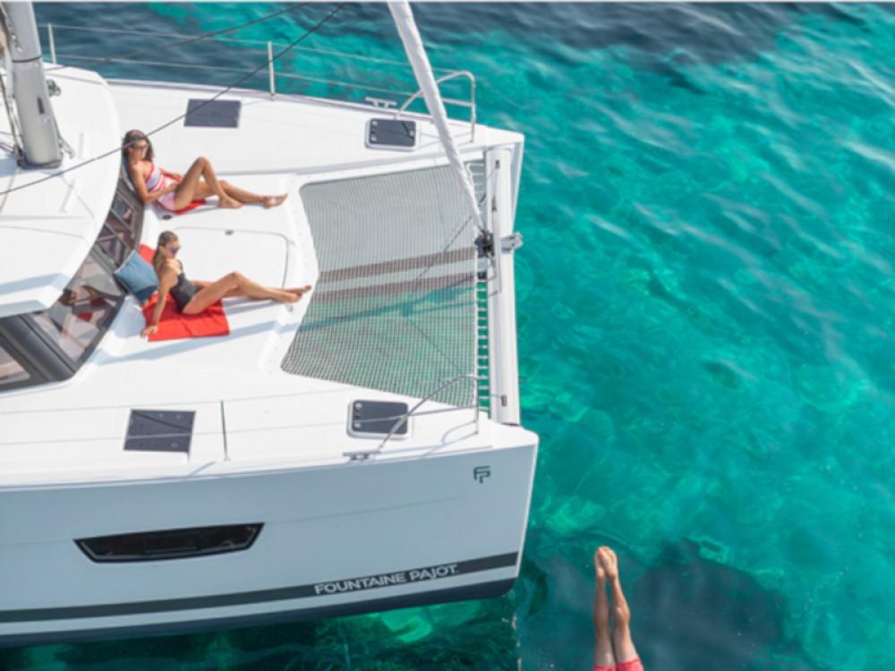 Rental Catamaran in Capo d'Orlando Marina - Fountaine Pajot Lucia 40