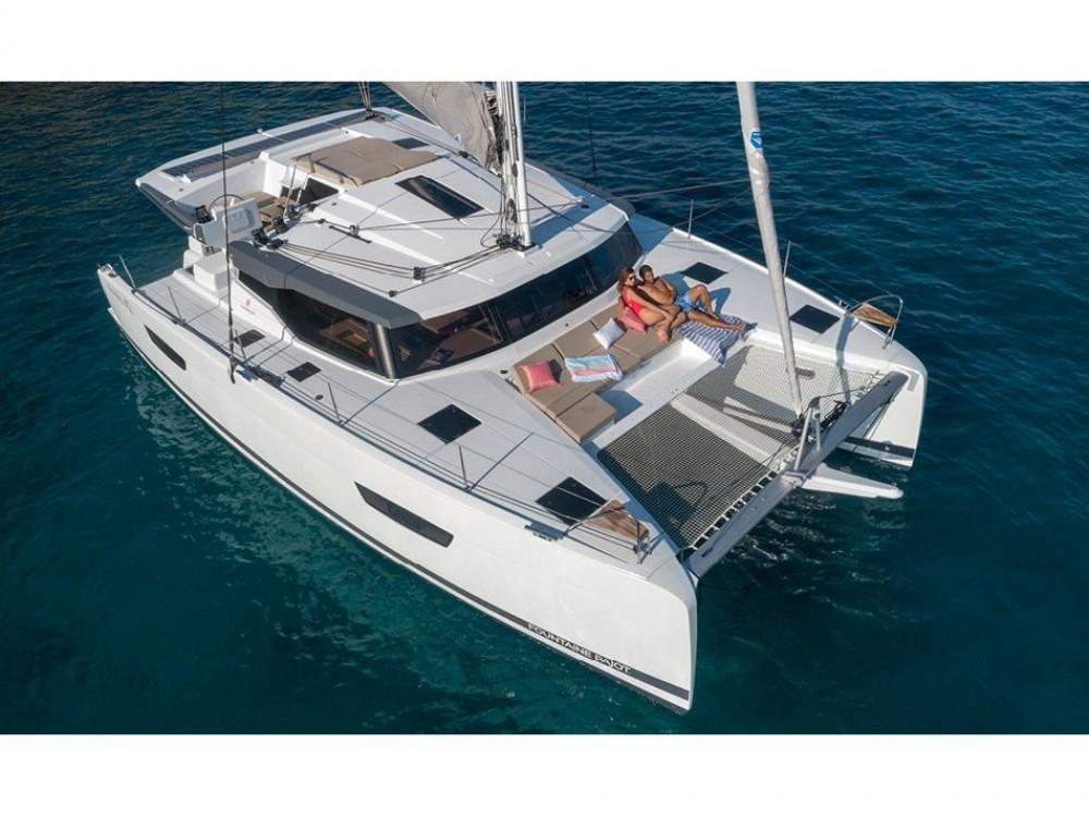 Boat rental Fountaine Pajot Astrea 42 in Capo d'Orlando Marina on Samboat
