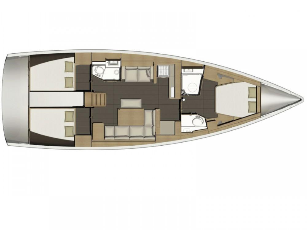 Rental yacht  - Dufour Dufour 460 GL on SamBoat