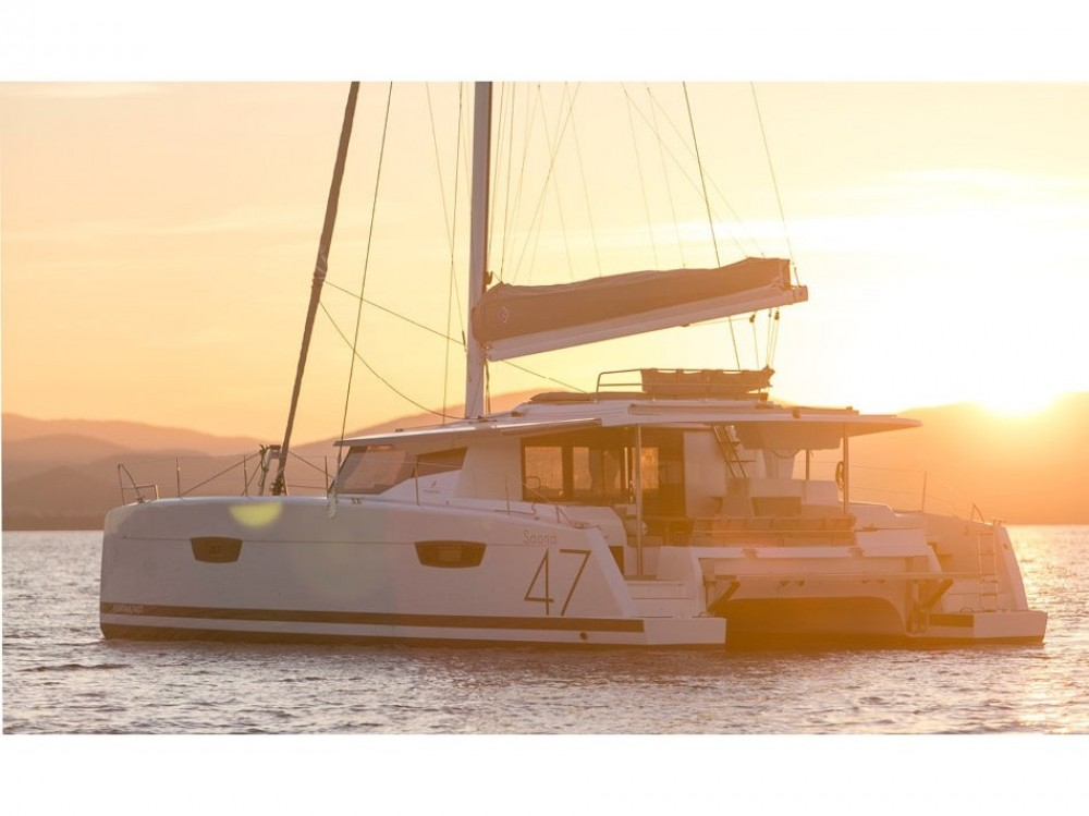 Rental Catamaran in  - Fountaine Pajot Saona 47
