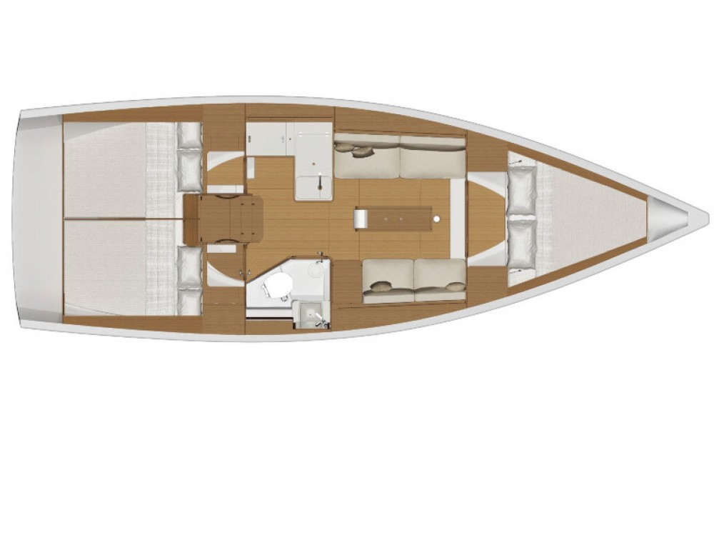 Rental yacht Capo d'Orlando - Dufour Dufour 360 Grand Large on SamBoat