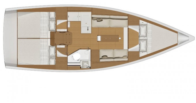 Boat rental Dufour Dufour 360 Grand Large in Capo d'Orlando on Samboat