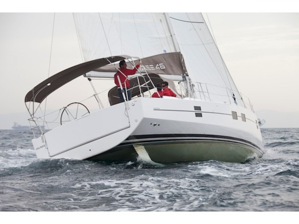 Rental Sailboat Azuree with a permit