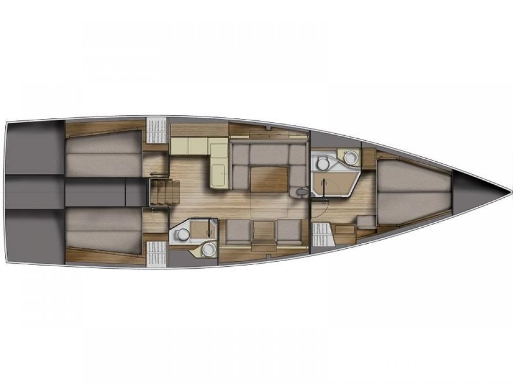 Rental yacht Capo d'Orlando Marina - Azuree Azuree 46 on SamBoat