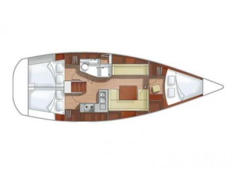 Boat rental Lávrio cheap Hanse 370