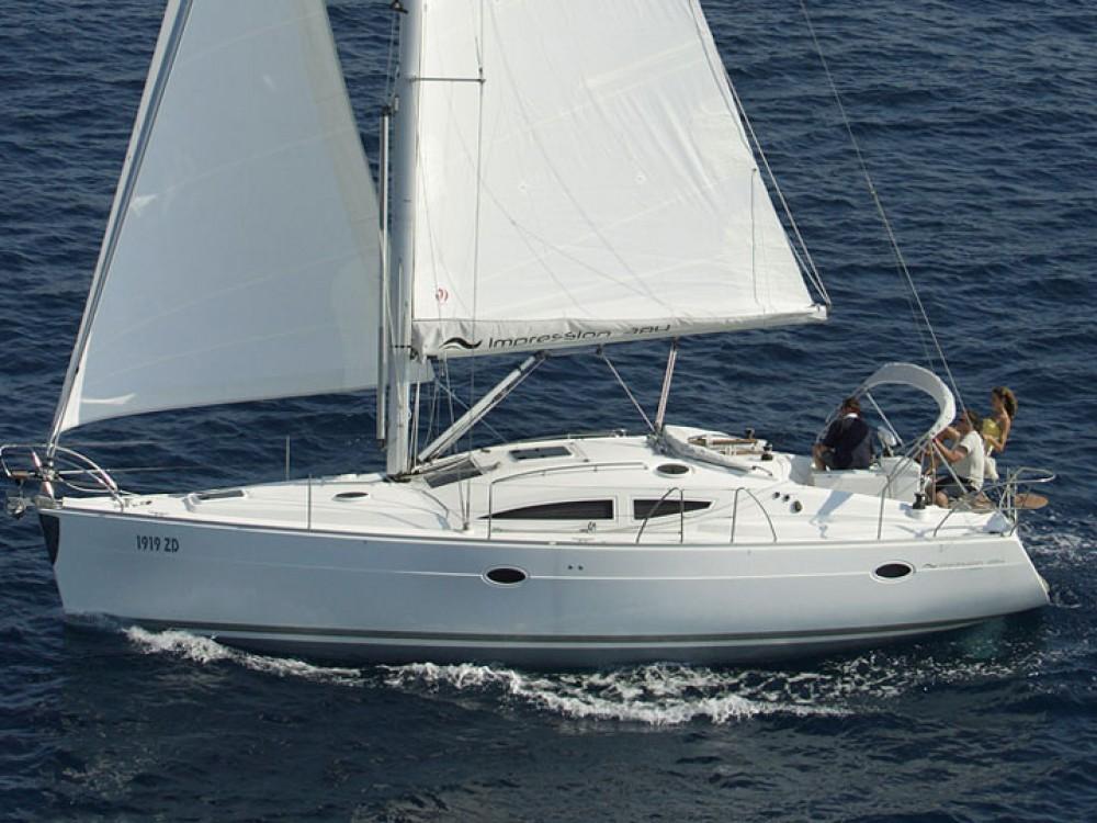 Rental yacht Olympic Marina - Elan Elan 384 Impression on SamBoat