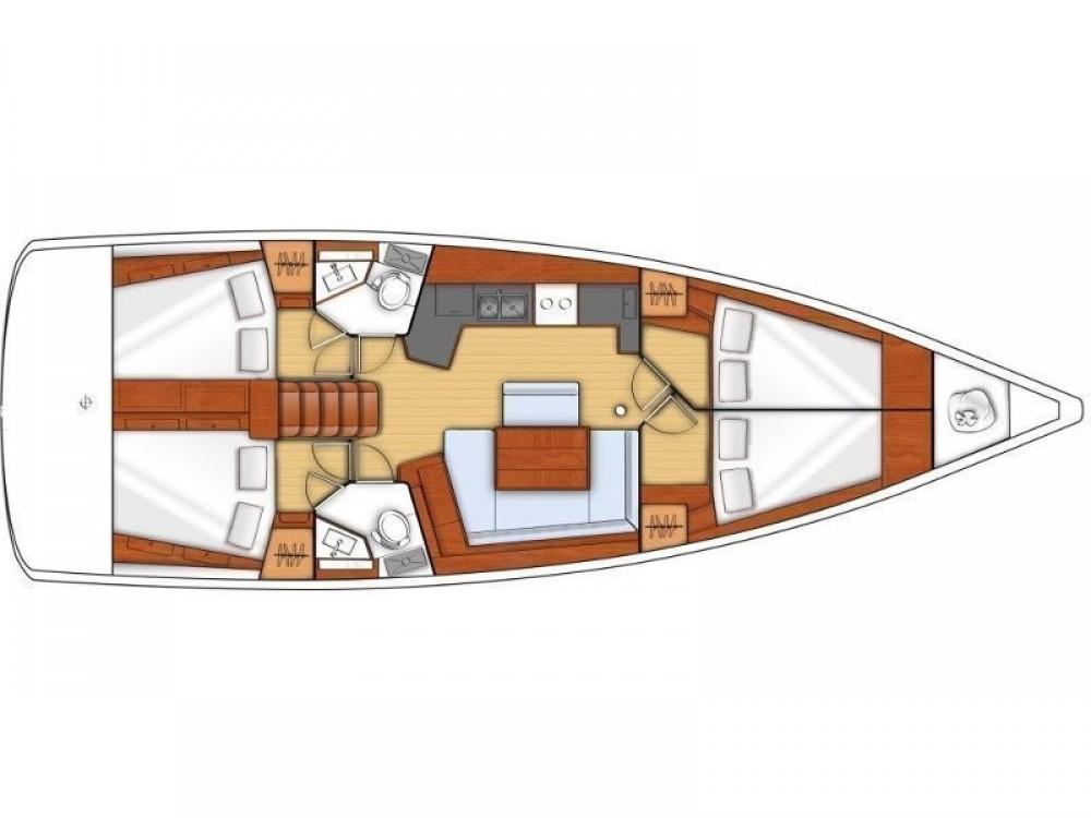 Rental Sailboat in Laurium - Bénéteau Oceanis 45